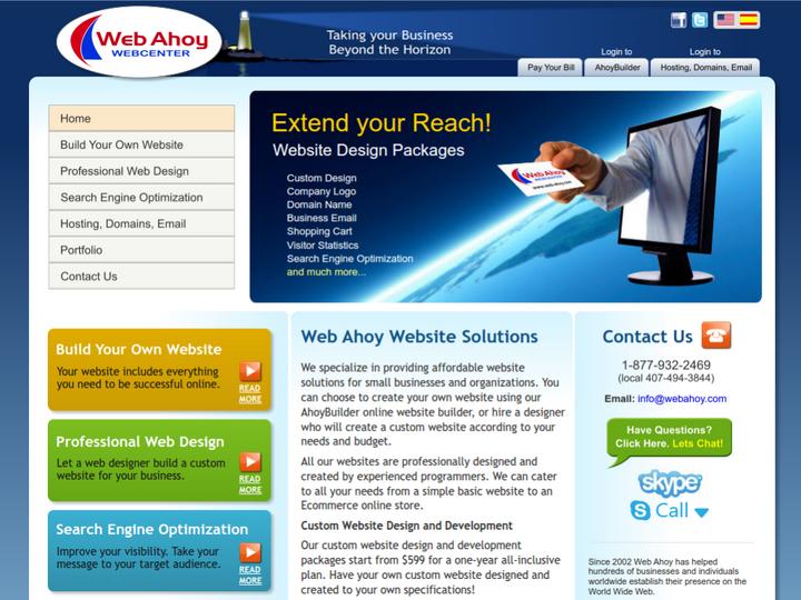 Web Ahoy Webcenter