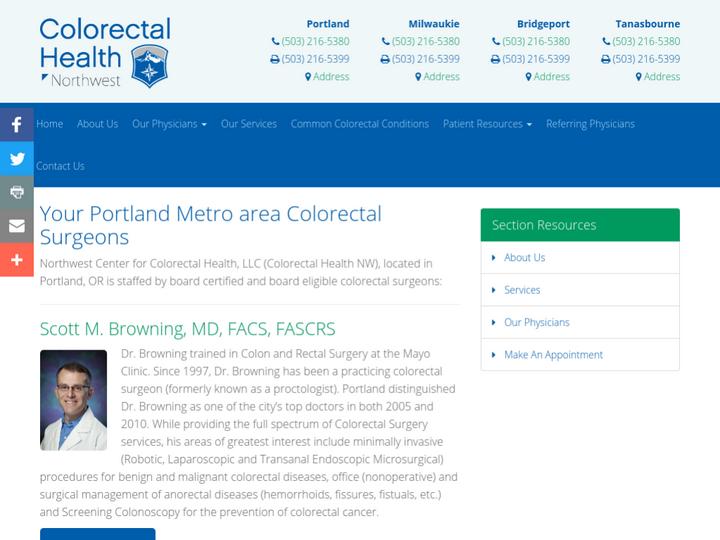 Northwest Center for Colorectal Health, LLC