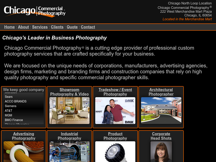 Chicago Commercial Photography