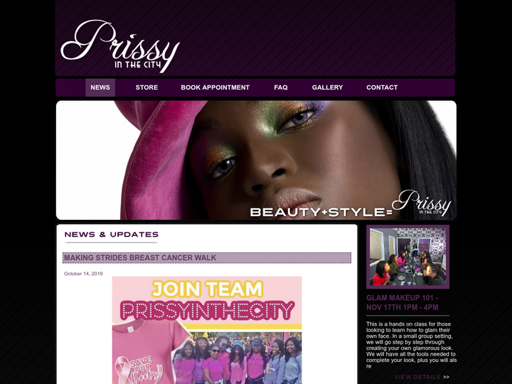 Prissy In The City Beauty Spa
