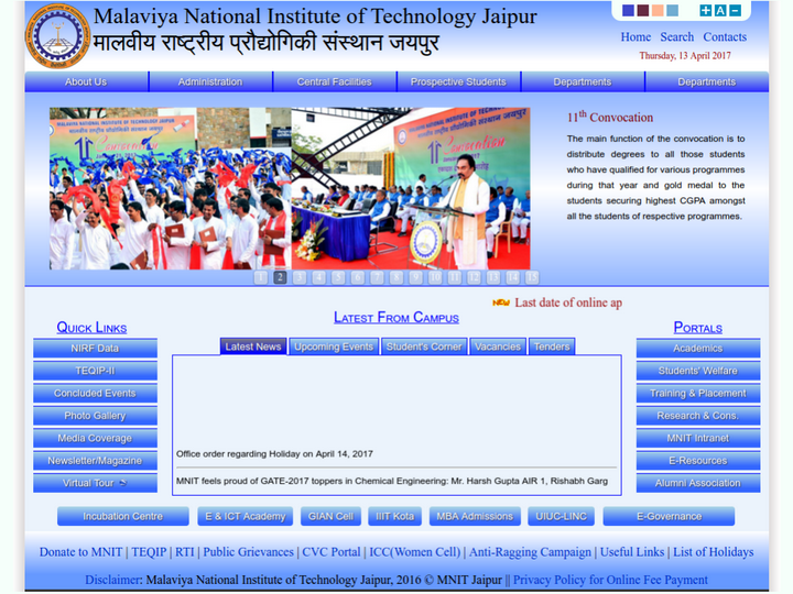 Malaviya National Institute of Technology, Jaipur
