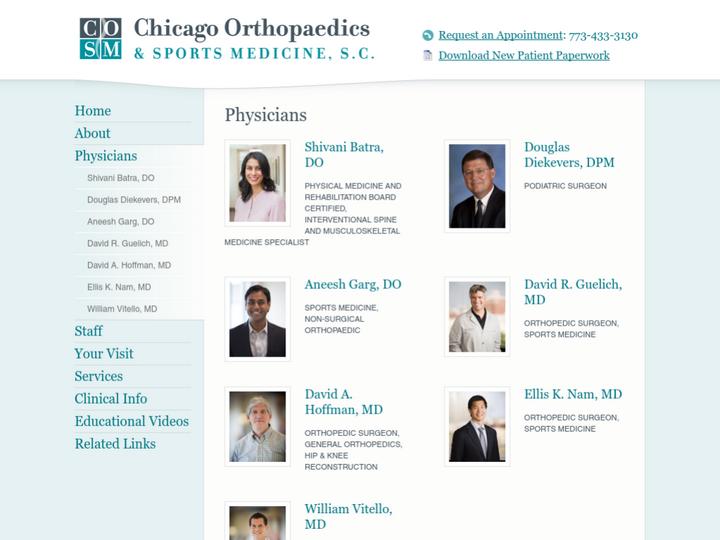 Chicago Orthopaedics & Sports Medicine