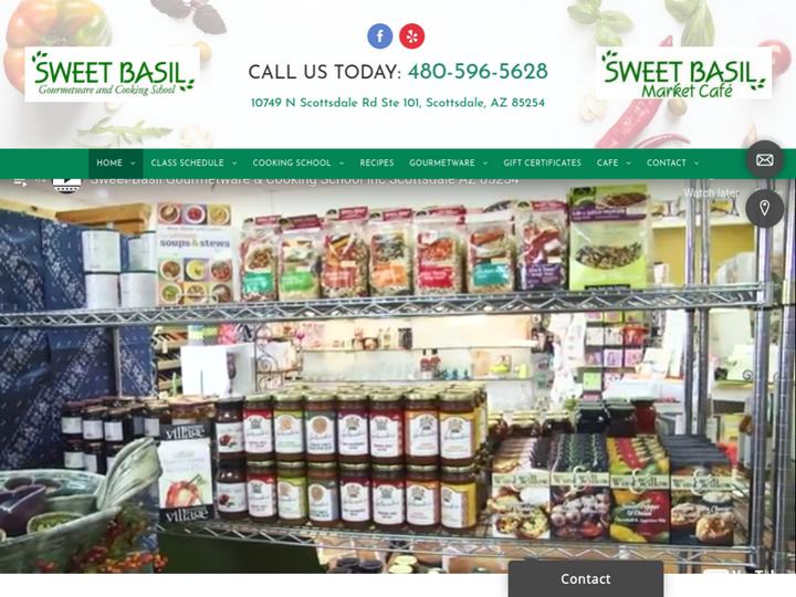 Sweet Basil Gourmetware & Cooking School