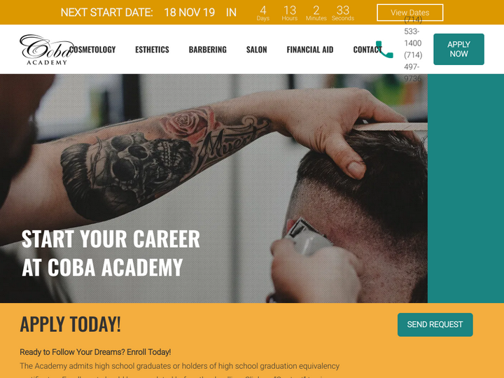 Coba Academy of Beauty and Barbering