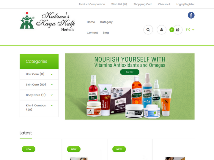 Kulsum's Kaya Kalp Herbals