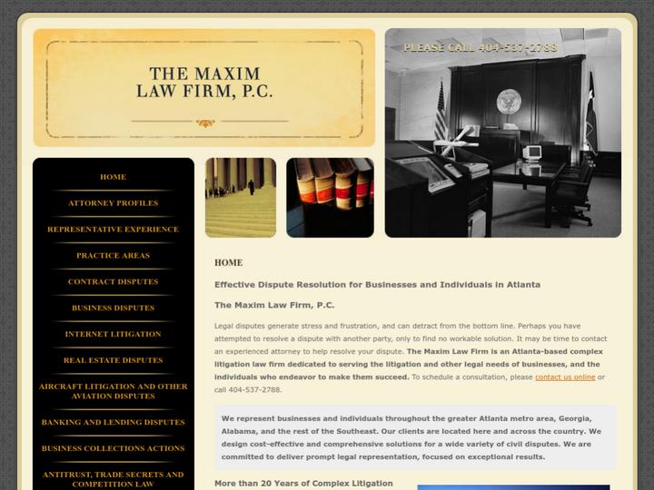 The Maxim Law Firm, P.C.