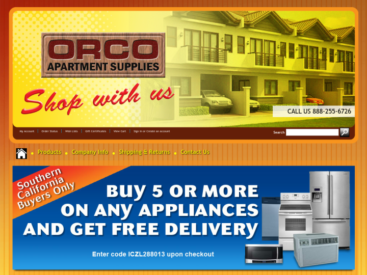 Orco Apartment Supplies