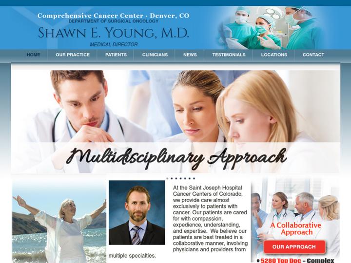 St. Joseph Hospital, Cancer Centers of Colorado
