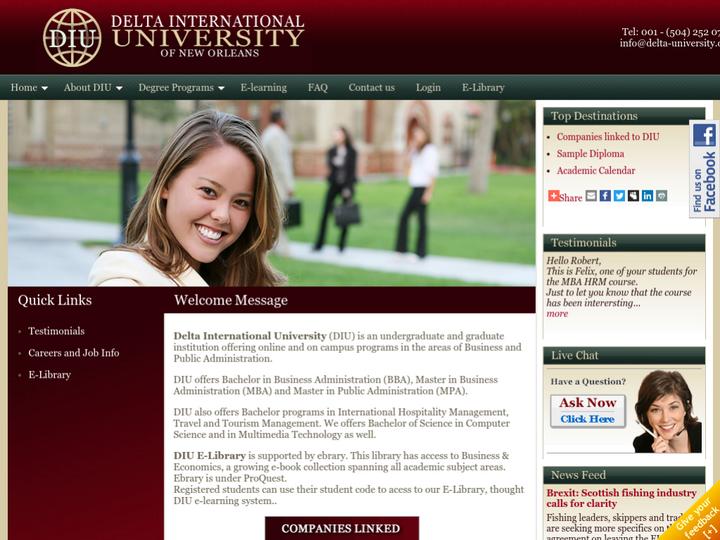 Delta International University of New Orleans