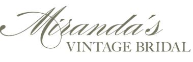 Miranda's Vintage Bridal