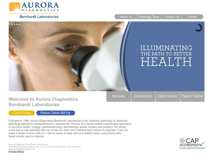 Aurora Diagnostics Bernhardt Laboratories