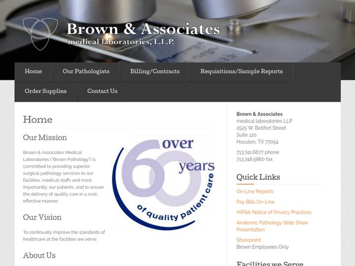 Brown & Associates medical laboratories LLP