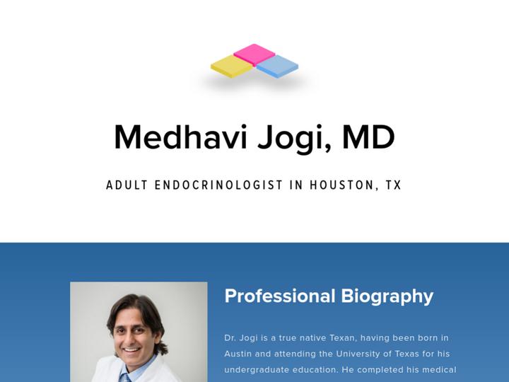 Medhavi Jogi, MD