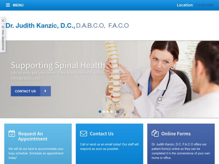 Dr Judith Kanzic, DC, DABCO, FACO