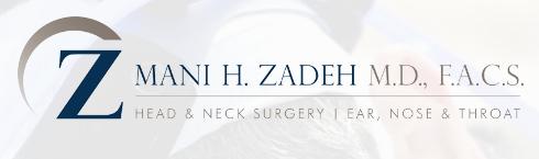 Dr. Mani H.Zadeh M.D., F.A.C.S