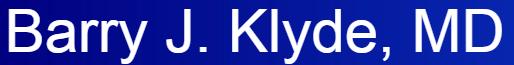 Barry J. Klyde, MD