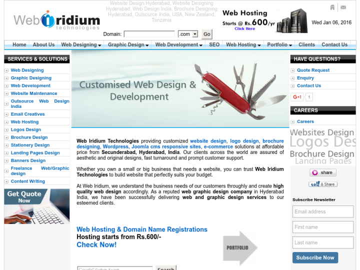 Web Iridium Technologies