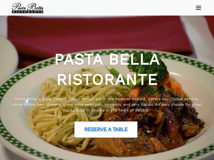 Pasta Bella Italian Restaurant
