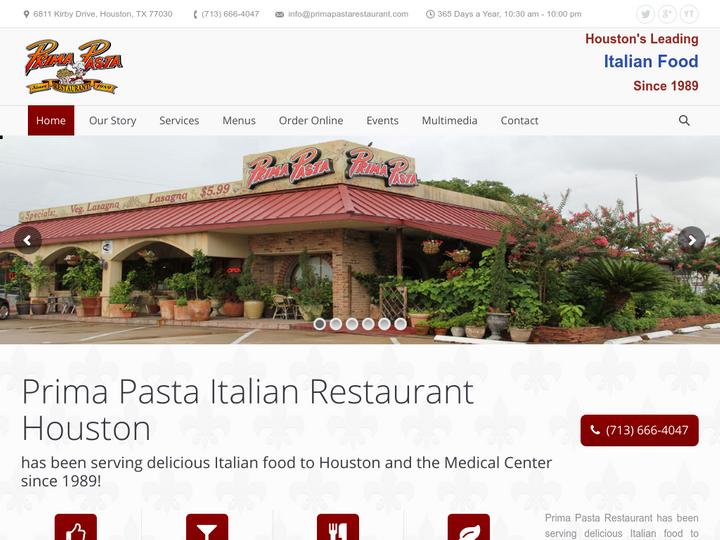 Prima Pasta Italian Restaurant