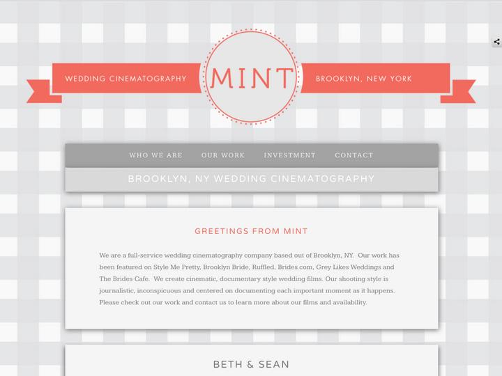 Mint Wedding Cinematography