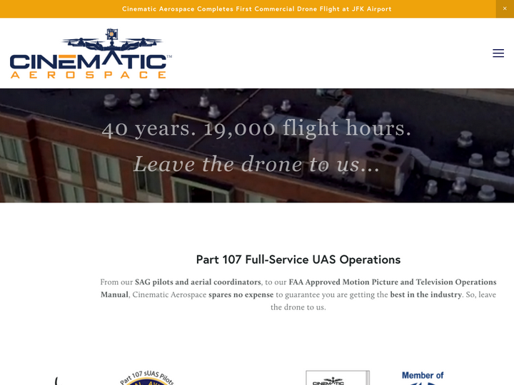 Cinematic Aerospace, Inc.