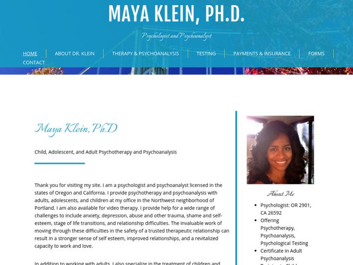 Maya Klein, Ph.D