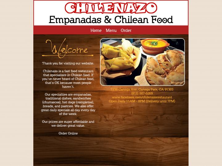 Chilenazo Chilean restaurant