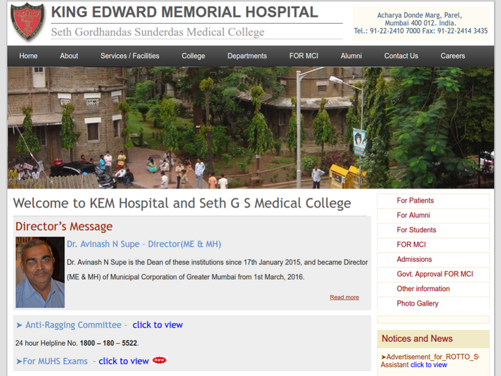 Seth GS Medical College and KEM Hospital, Mumbai