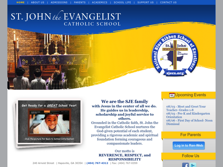 St. John the Evangelist Catholic School