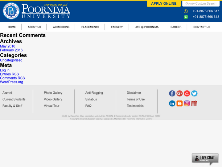 Poornima School of Management