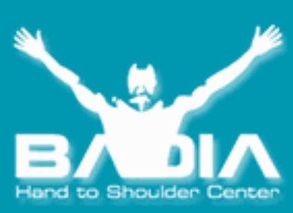 Badia Hand to Shoulder Center
