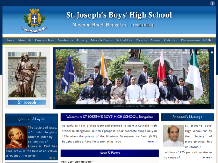 St. Joseph's Boys High School, Bangalore