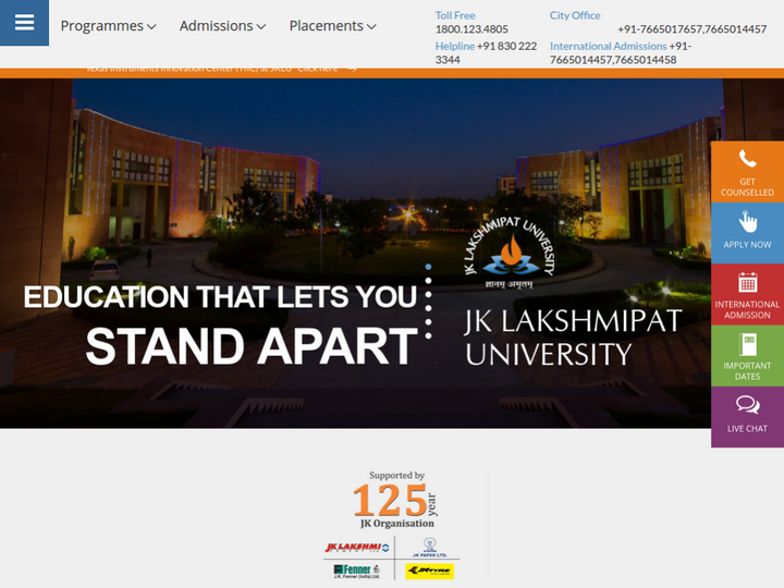 JK Lakshmipat University - Institute of Management, Jaipur