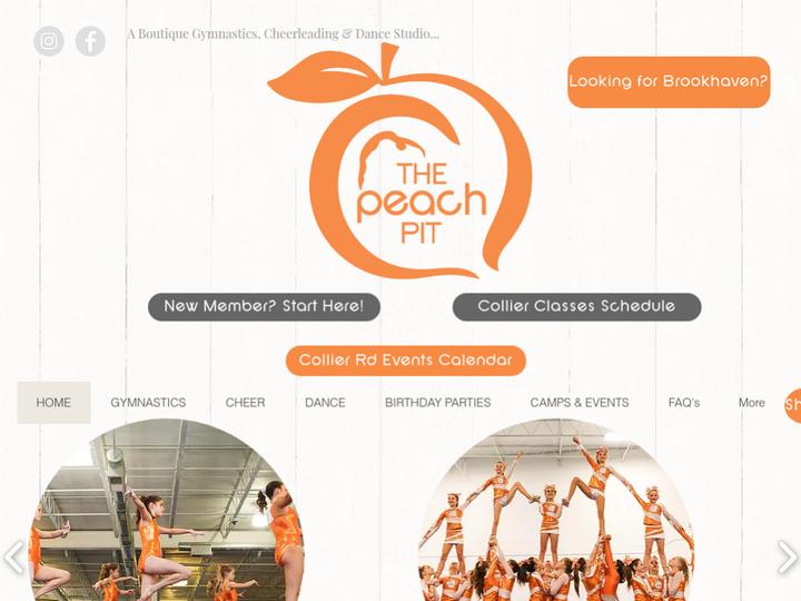 The Peach Pit Gymnastics