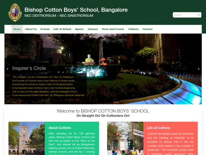 Bishop Cotton Boys School, Bangalore
