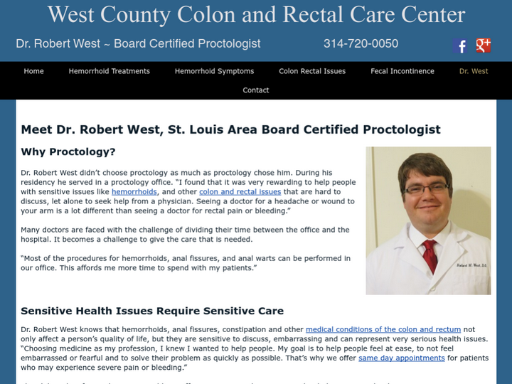 West County Colon and Rectal Care Center