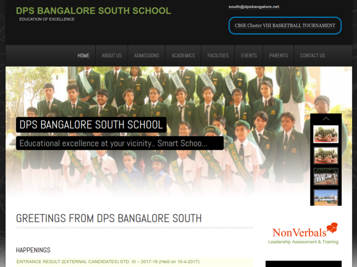 Delhi Public School, South, Bangalore