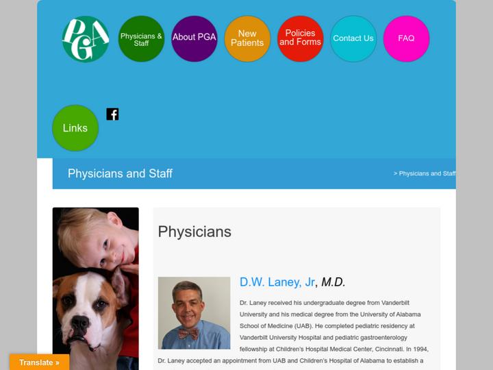Pediatric Gastroenterology Associates, P.C.