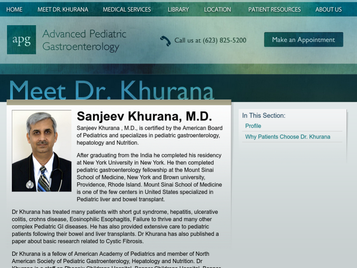 Advanced Pediatrics Gastroenterology