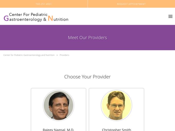 Center for Pediatric Gastroenterology & Nutrition