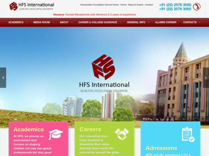Hiranandani Foundation School  International, Powai