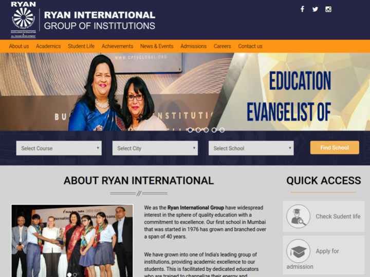 Ryan International School, Bannerghatta