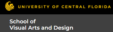 School of Visual Arts and Design University of Central Florida