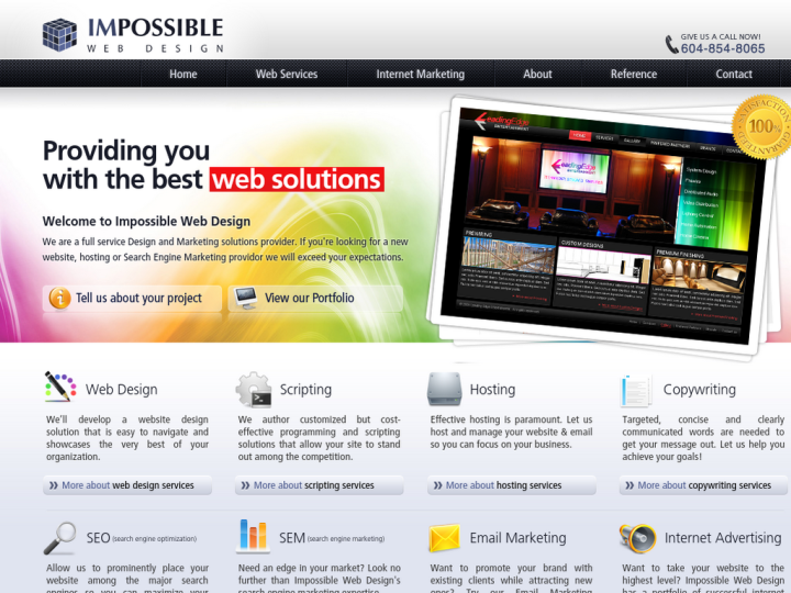 Impossible Web Design