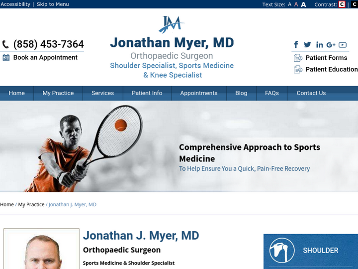 Jonathan J. Myer, MD