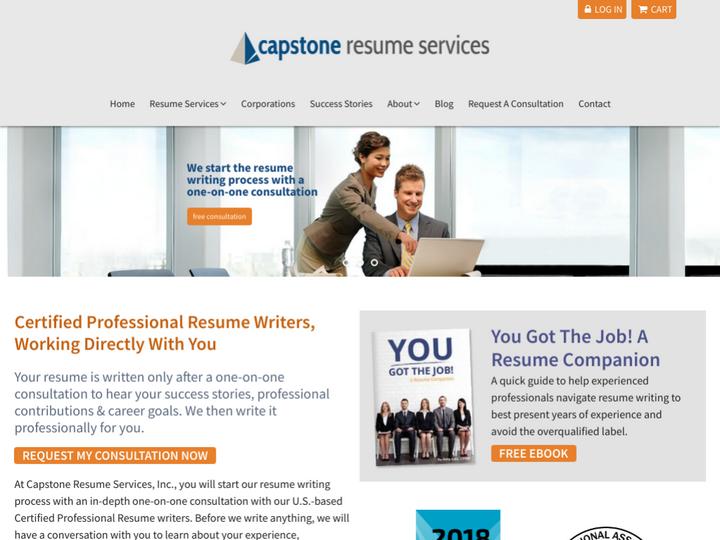 Capstone Resume Services San Jose Usa December 2019