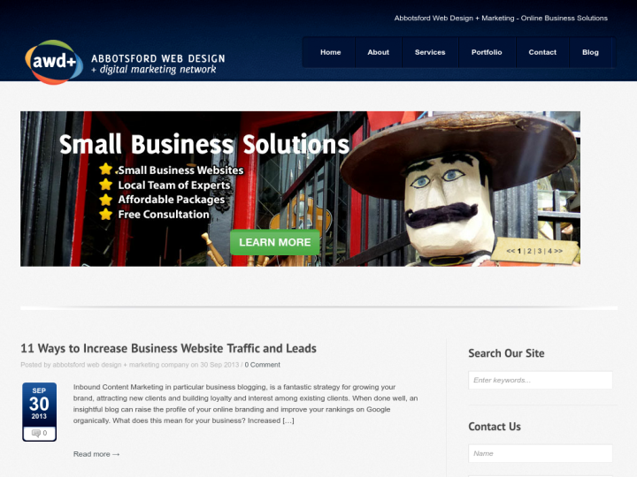 Abbotsford Web Design