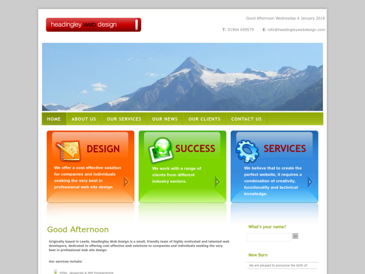Headingley Web Design