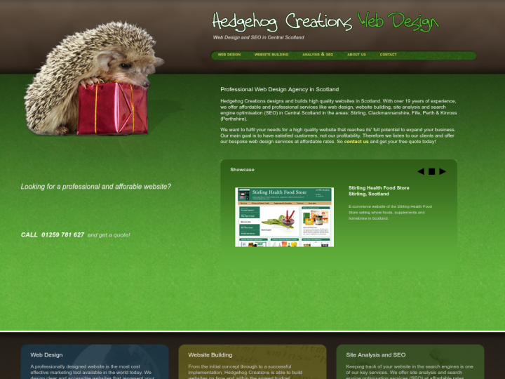 Hedgehog Creations