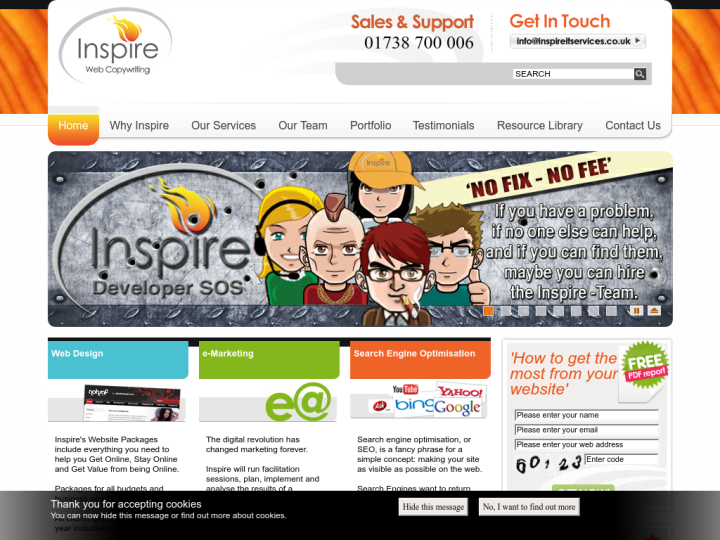 Inspire IT Services Ltd